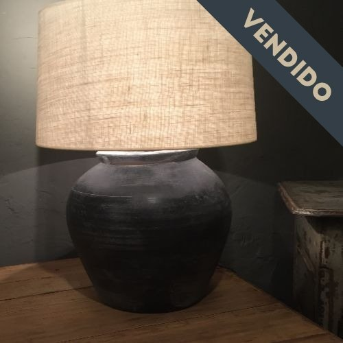 lampara belga negra antrazita