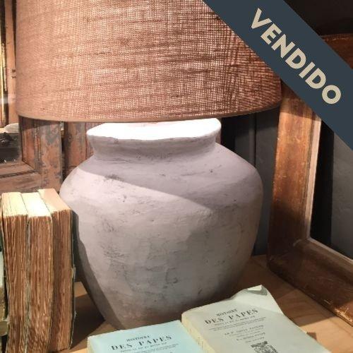 lampara gris antrazita
