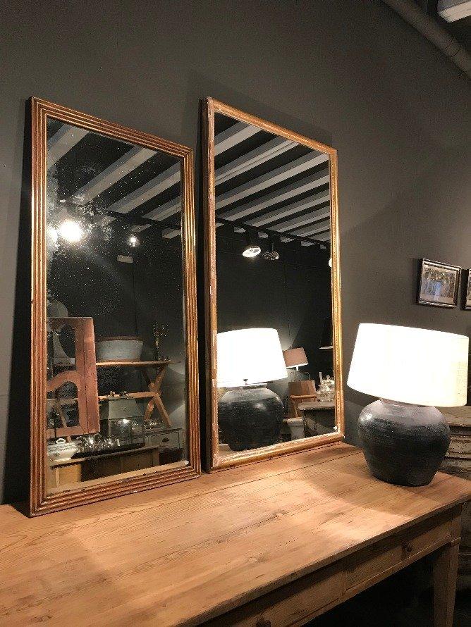 2 espejos antrazita